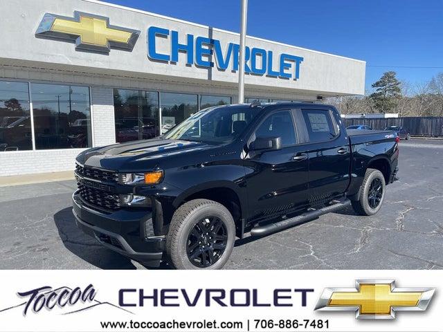 2021 Chevrolet Silverado 1500 Custom Crew Cab 4WD