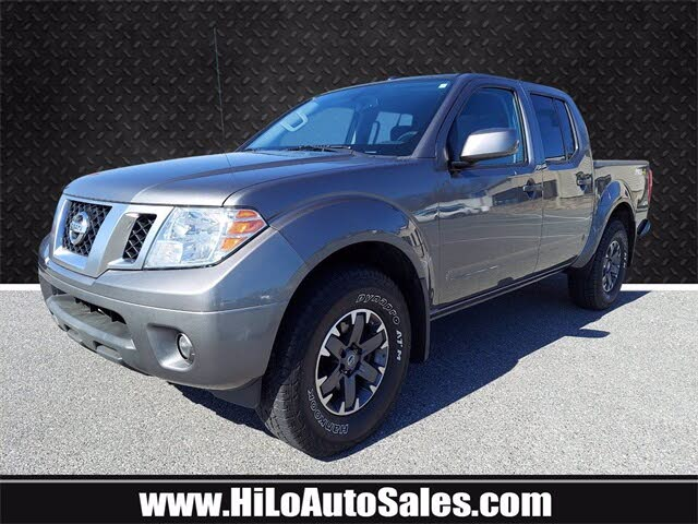 2018 Nissan Frontier PRO-4X Crew Cab 4WD