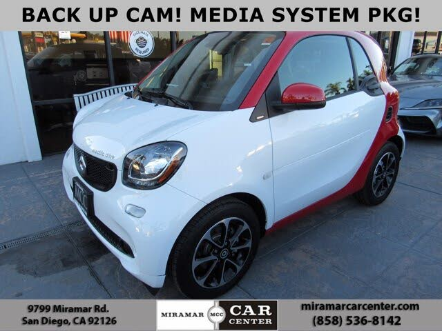 2017 smart fortwo electric drive passion hatchback RWD