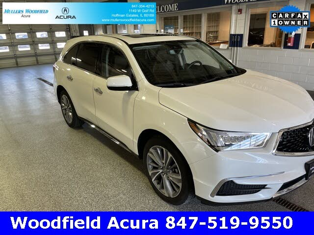 2018 Acura MDX SH-AWD with Technology and Entertainment Package