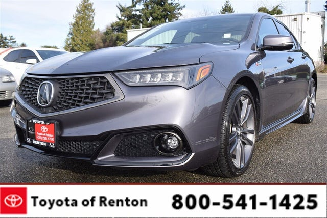 2018 Acura TLX V6 FWD with Technology and A-Spec Package