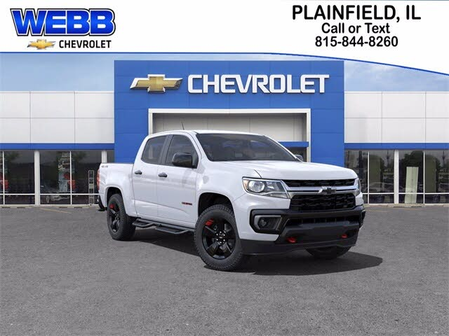 2021 Chevrolet Colorado LT Crew Cab 4WD