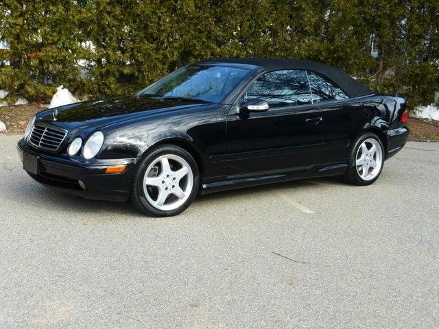 2002 Mercedes-Benz CLK-Class CLK 430 Cabriolet