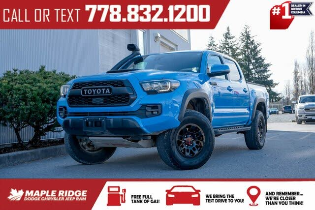 2019 Toyota Tacoma TRD Pro Double Cab 4WD