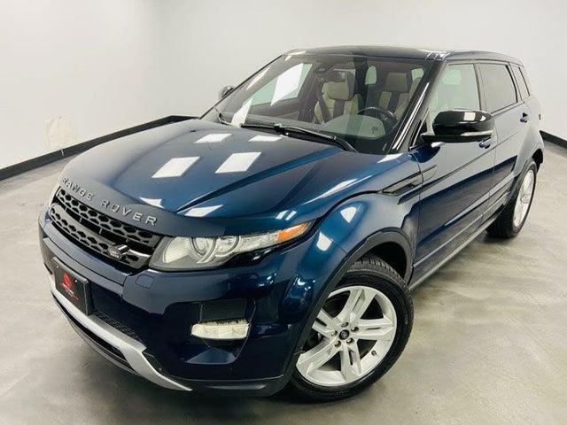 2013 Land Rover Range Rover Evoque Dynamic Hatchback