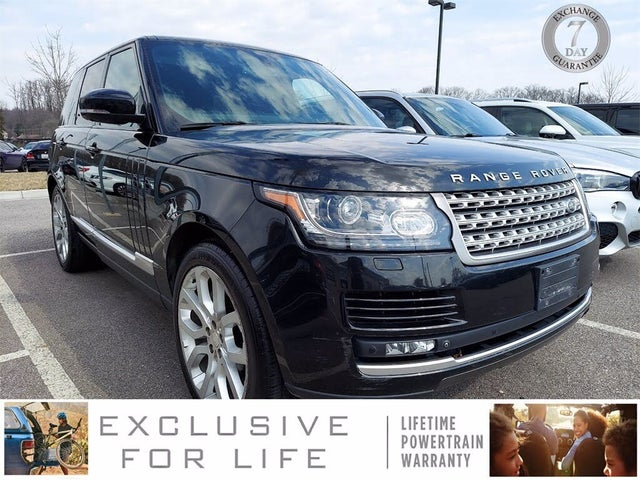 2014 Land Rover Range Rover Supercharged 4WD
