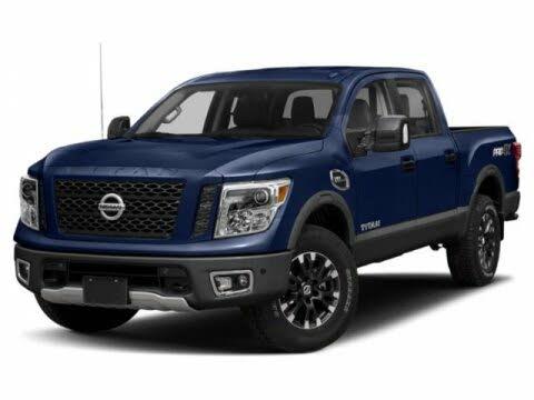 2019 Nissan Titan PRO-4X Crew Cab 4WD