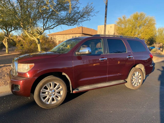 2010 Toyota Sequoia Platinum 4WD FFV