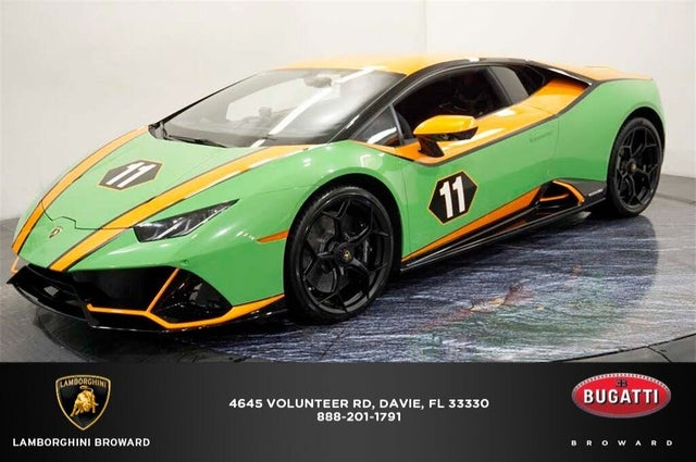 2020 Lamborghini Huracan LP 640-4 EVO Coupe AWD
