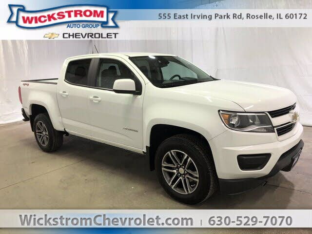 2020 Chevrolet Colorado Work Truck Crew Cab LB 4WD