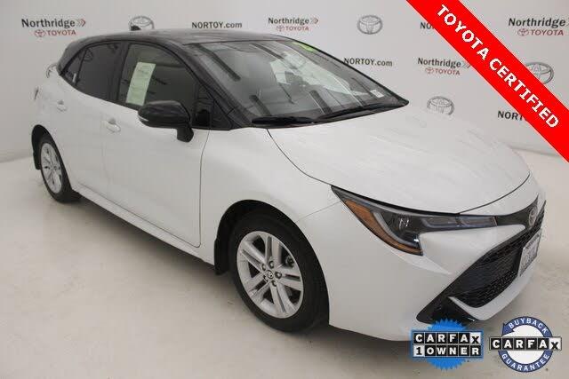 2021 Toyota Corolla Hatchback SE FWD