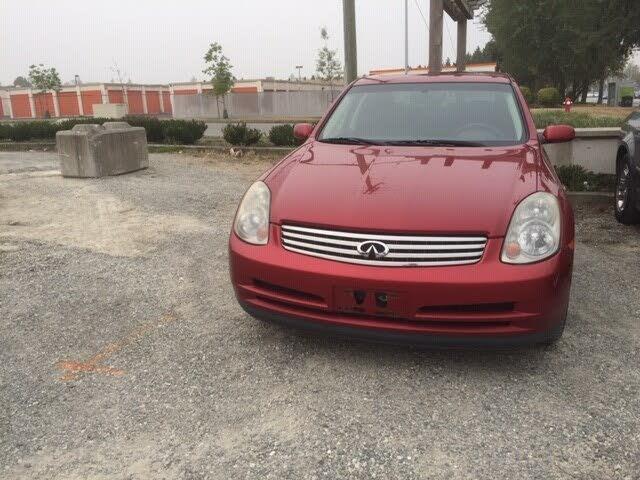 2004 INFINITI G35 x Sedan AWD
