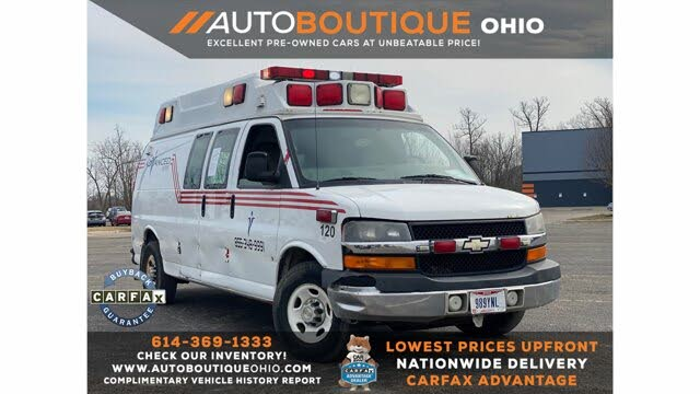 2009 Chevrolet Express Cargo 3500 Extended RWD