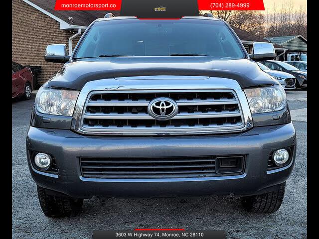 2012 Toyota Sequoia Platinum FFV 4WD