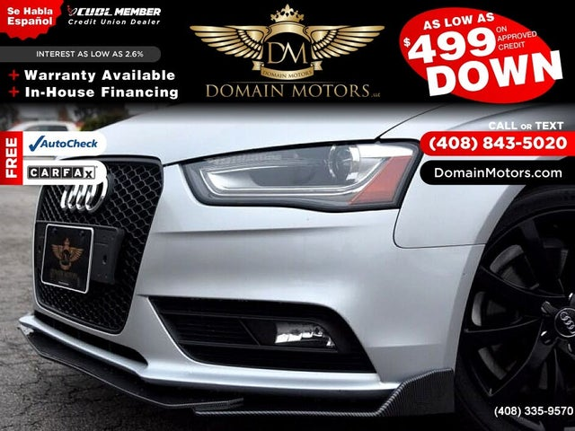 2013 Audi A4 2.0T quattro Prestige AWD