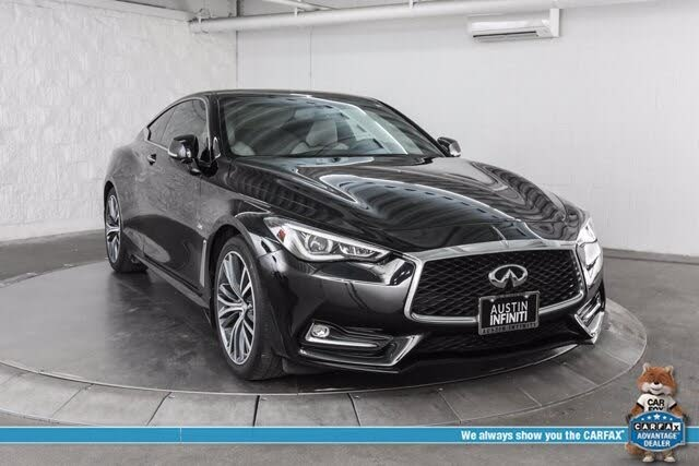 2018 INFINITI Q60 2.0t Luxe Coupe RWD