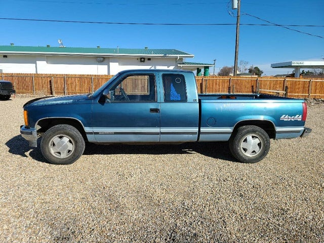 1992 GMC Sierra 1500 K1500 4WD Extended Cab SB