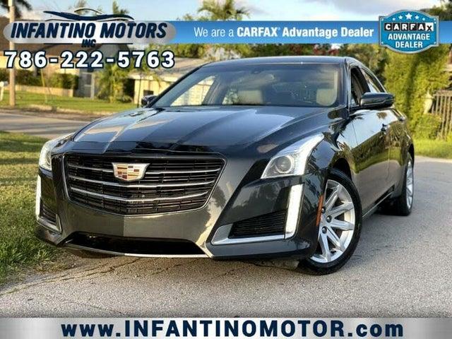 2016 Cadillac CTS 2.0T AWD