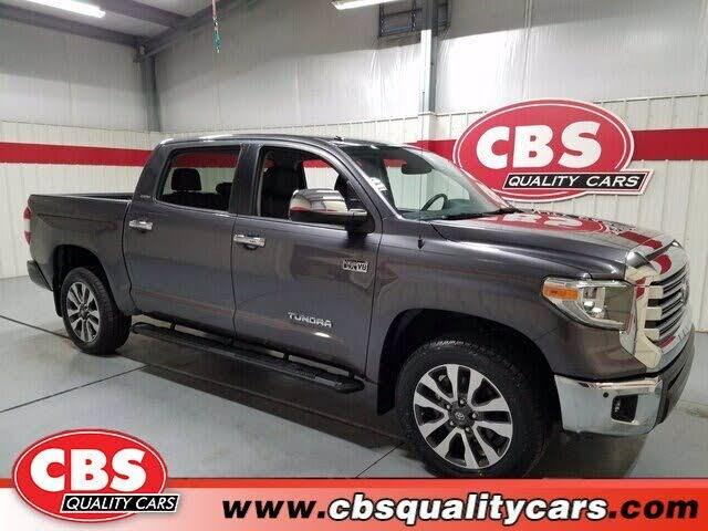 2018 Toyota Tundra Limited CrewMax 5.7L FFV 4WD