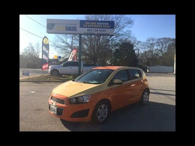 2013 Chevrolet Sonic LS Hatchback FWD