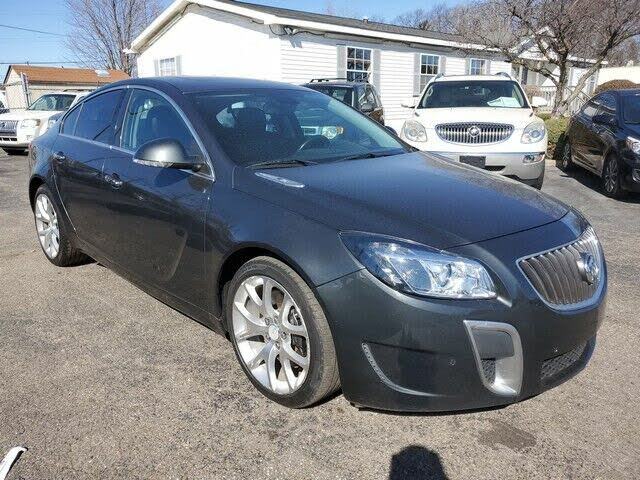 2012 Buick Regal GS Sedan FWD