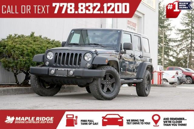 2017 Jeep Wrangler Unlimited Big Bear 4WD