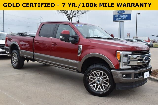 2019 Ford F-350 Super Duty King Ranch Crew Cab 4WD