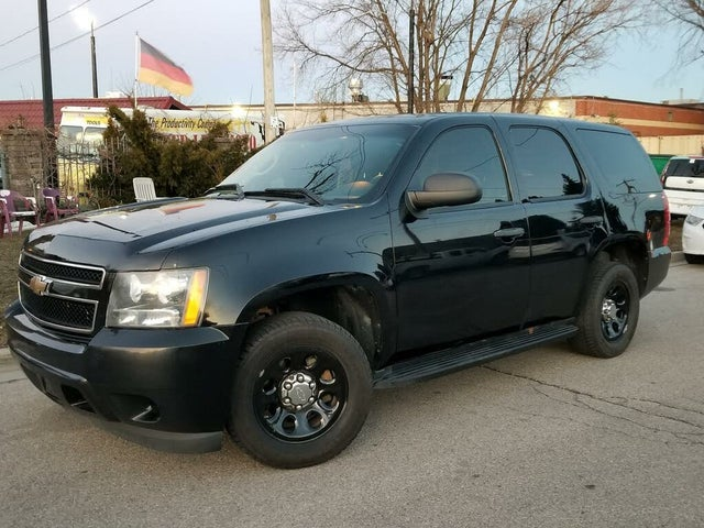 2011 Chevrolet Tahoe Police RWD