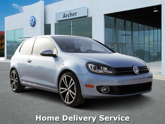 2012 Volkswagen Golf TDI with Tech Package 2dr