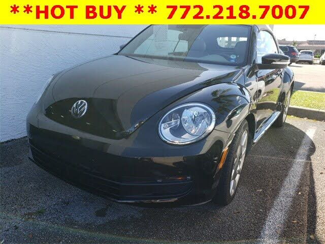 2015 Volkswagen Beetle 1.8T Convertible with Sound and Navigation