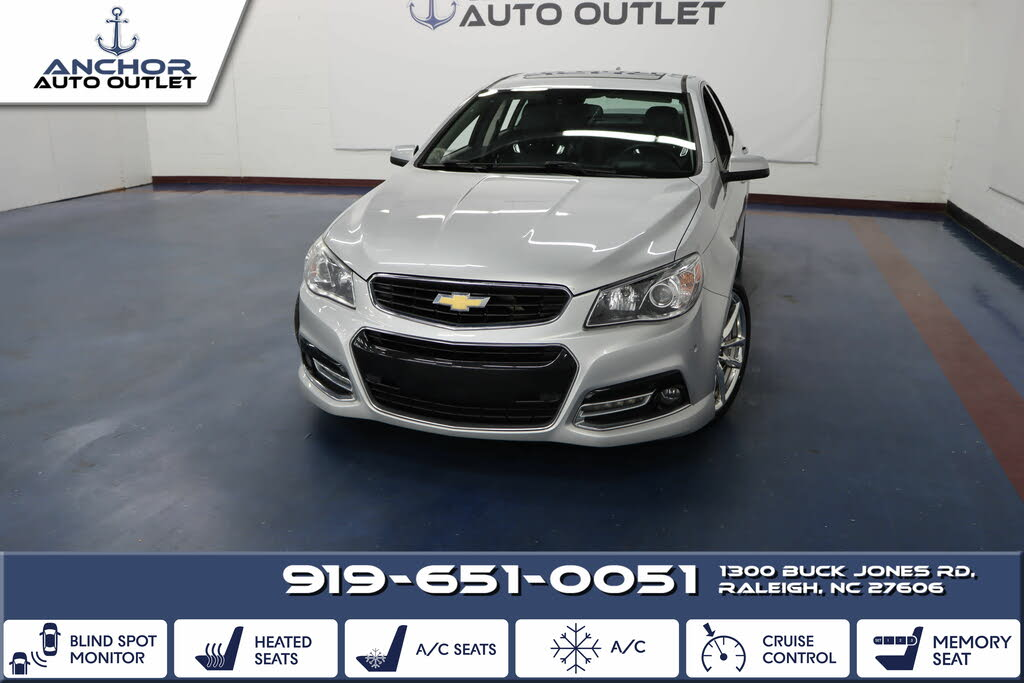 Used Chevrolet Ss For Sale In Richmond Va Cargurus