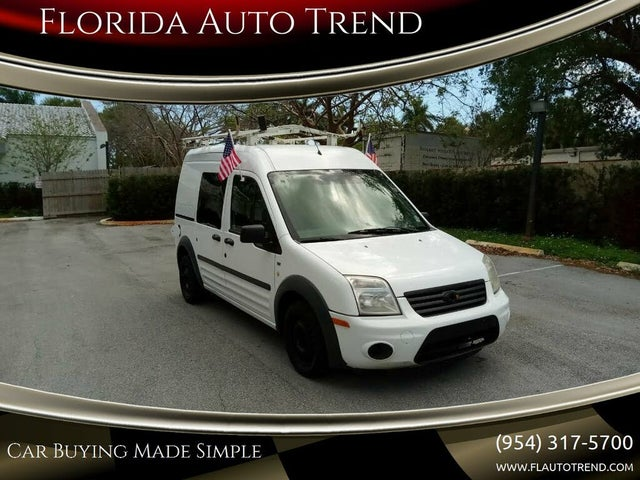 2011 Ford Transit Connect Cargo XLT FWD with Side and Rear Glass