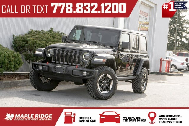 2020 Jeep Wrangler Unlimited Rubicon 4WD