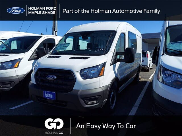 2020 Ford Transit Crew 350 RWD with Sliding Passenger-Side Door