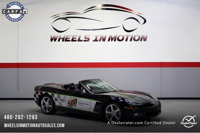 2008 Chevrolet Corvette Indy 500 Pace Car Replica Convertible RWD