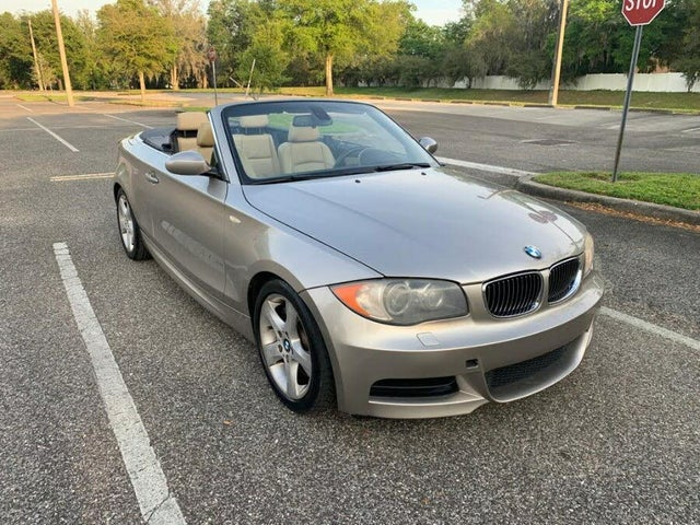2008 BMW 1 Series 135i Convertible RWD