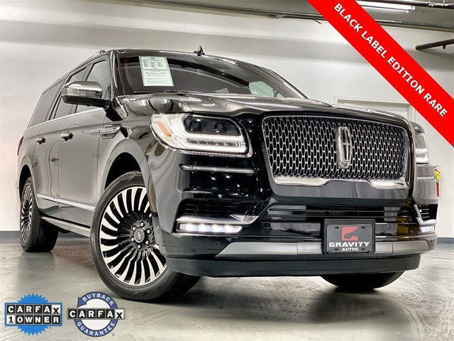 2018 Lincoln Navigator L Black Label 4WD