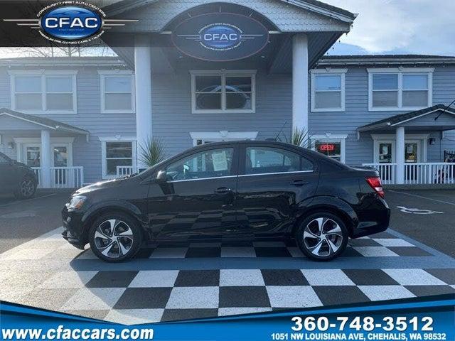 2020 Chevrolet Sonic Premier Sedan FWD