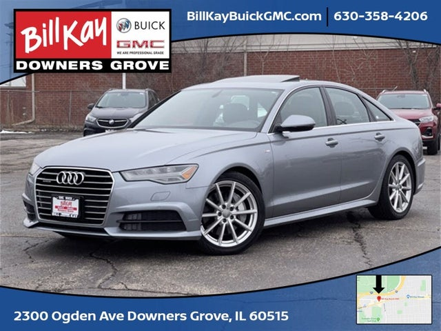 2017 Audi A6 2.0T quattro Premium Plus Sedan AWD
