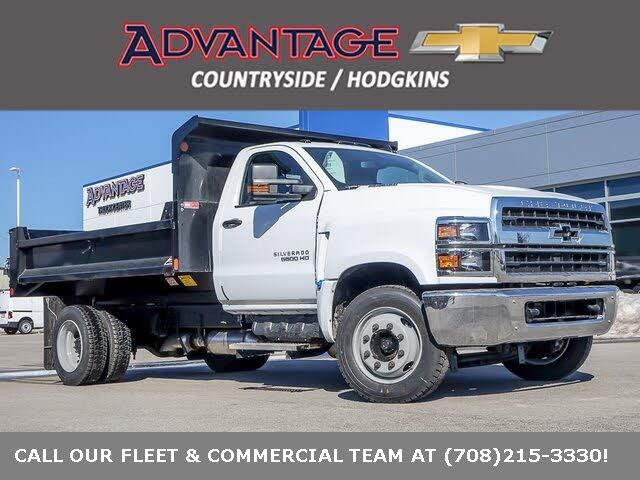 2020 Chevrolet Silverado 5500HD Work Truck Regular Cab RWD