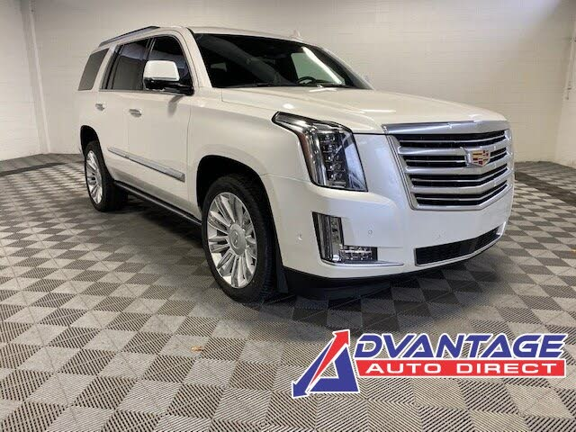 Used 2018 Cadillac Escalade Platinum 4wd For Sale Right Now Cargurus
