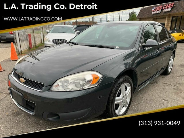 2013 Chevrolet Impala Unmarked Police FWD
