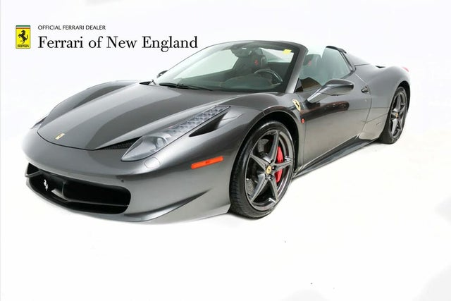Used Ferrari 458 Italia For Sale In Boston Ma Cargurus