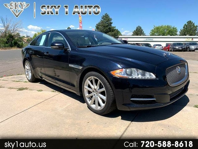 2012 Jaguar XJ-Series XJ Base RWD