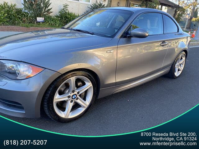 2009 BMW 1 Series 135i Coupe RWD