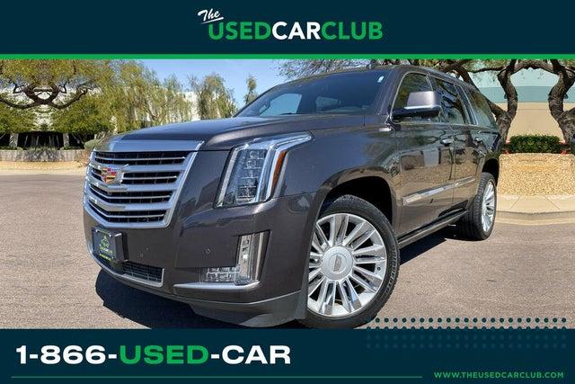 2016 Cadillac Escalade Platinum RWD