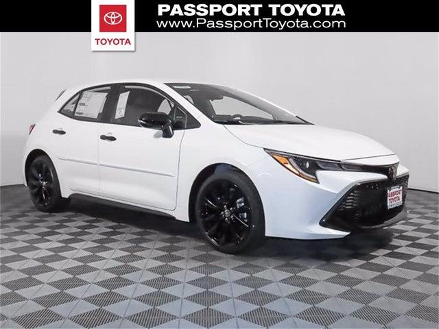 2021 Toyota Corolla Hatchback SE Nightshade Edition FWD