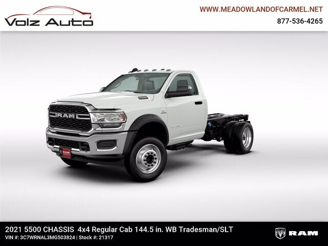 2021 RAM 3500 Chassis
