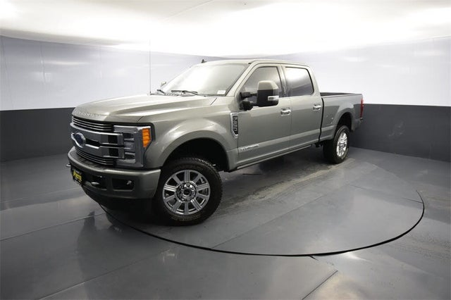 2019 Ford F-350 Super Duty Limited Crew Cab LB 4WD