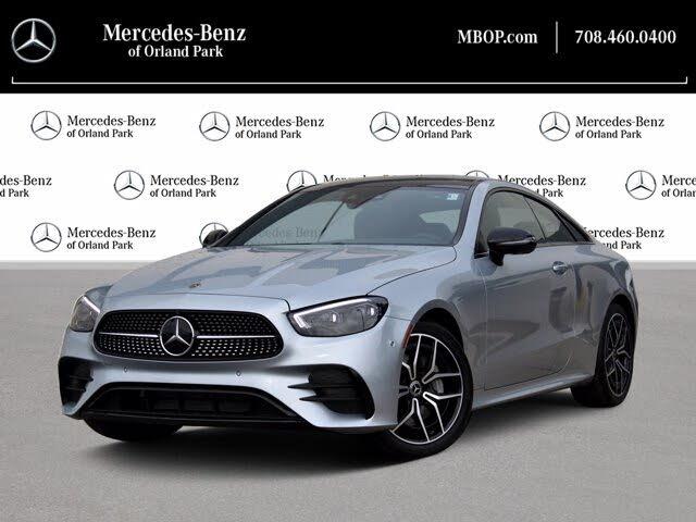 2021 Mercedes-Benz E-Class E 450 4MATIC Coupe AWD